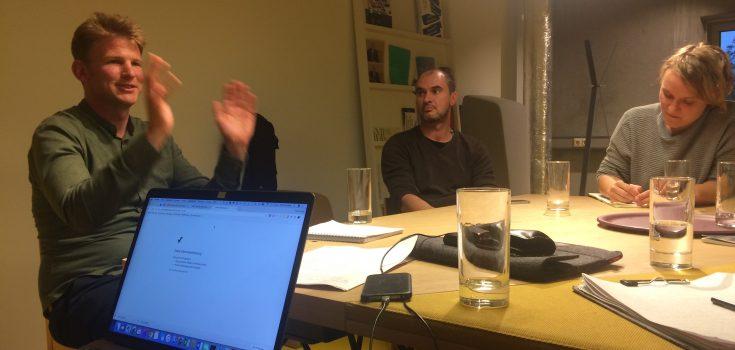 Marten Kuijpers, Het Nieuwe Instituut, Senior Researcher (1.v.l.) (Foto von Katja Manz)