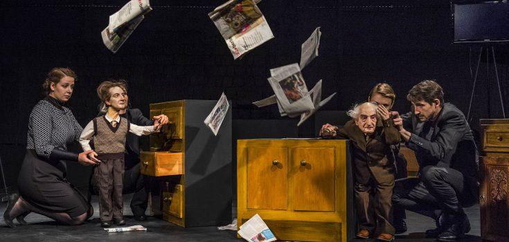 Wenn mich einer fragte … / Ein Stück über Stefan Heym und Chemnitz (Uraufführung) Foto © Nasser Hashemi