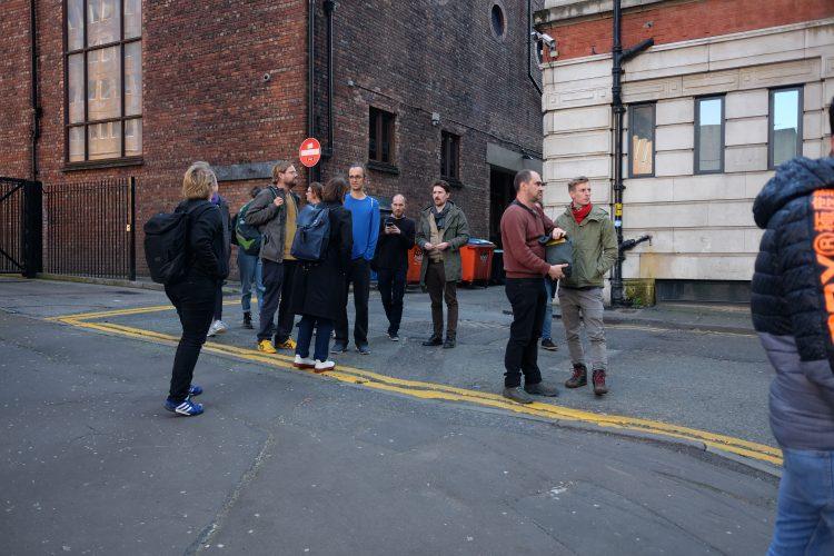 Reisegruppe in Downtown Manchester (c)Frauke Frech