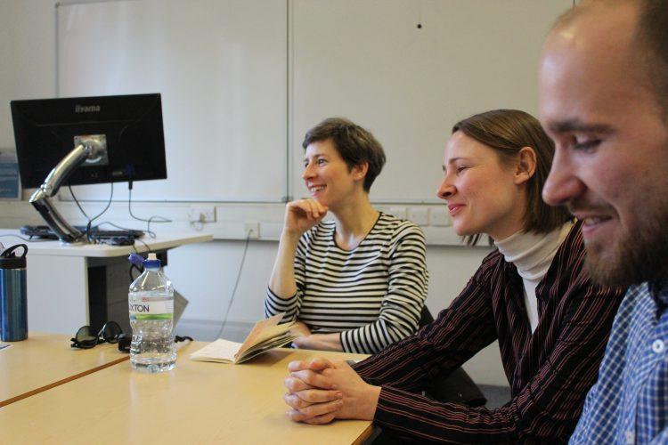 zu Gast beim Team von Multilingual Manchester (c)Heda Bayer