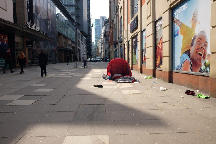 auf den Straßen von Manchester (c)Frauke Frech