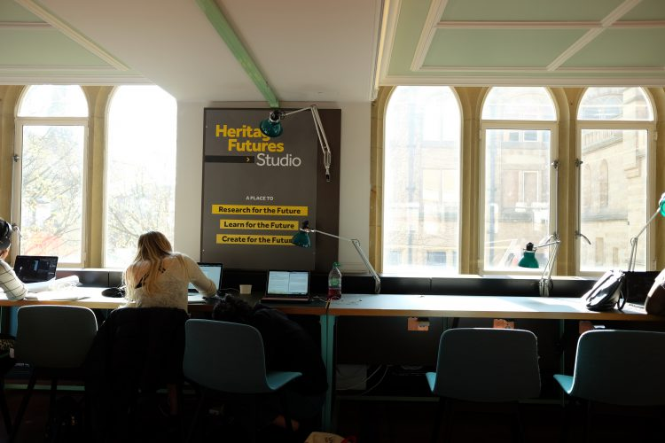 Heritage Futures public workspace (c)Frauke Frech