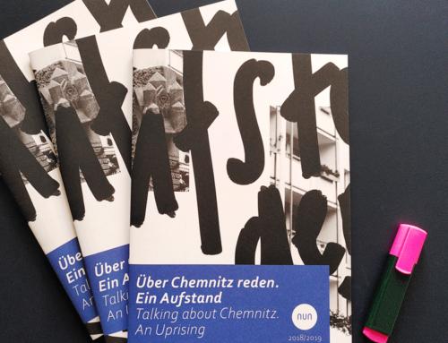 Über Chemnitz reden. Ein Aufstand – die Broschüre