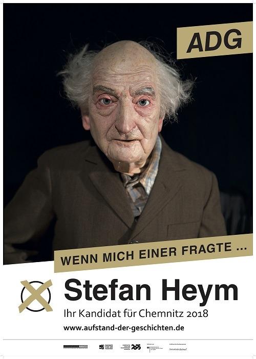 Plakat Stefan Heym