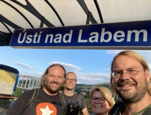 Bildungsreise nach Tschechien – pojdte!